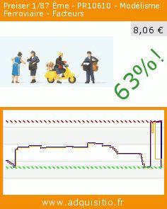 Preiser 1/87 Ème - PR10610 - Modélisme Ferroviaire - Facteurs (Jouet). Réduction de 63%! Prix actuel 8,06 €, l'ancien prix était de 21,68 €. https://www.adquisitio.fr/preiser-187-%C3%A8me/pr10610-mod%C3%A9lisme