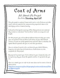coat of arms project.pdf - Google Drive Instructions for project
