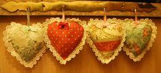 Heart sachets Sachets, Crochet Earrings, Christmas Ornaments, Holiday Decor, Heart, Christmas Jewelry, Christmas Decorations, Christmas Decor, Hearts
