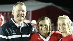 At an Alabama man's last home game coaching football, daughter fulfills a lifetime dream for him