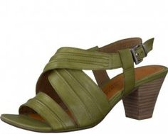 View our fabulous range of ladies shoes online, with FREE UK delivery. Strappy Sandals, Leather Sandals, Evening Sandals, Ladies Shoes, Green Leather, Shoes Online, Maternity, Wedges, Elegant
