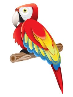 How to Create a Colorful Parrot using Gradients in Adobe Illustrator - 15 High-Quality Adobe Illustrator Tutorials 2013