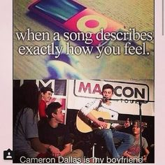 cameron dallas is my boyfriend and i love him sooooo and you can't have him cause he's all mine, cameron dallas