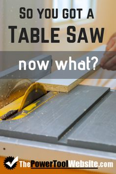 When you're beginning woodworking, you'll quickly learn how useful a table saw really is. Many people even start woodworking out with nothing more than this tool alone. Where do you start? Read this article to learn just that.