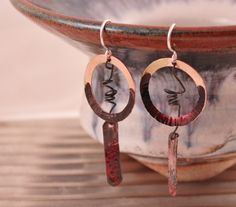 Dremantine  handmade copper enamel steel and by artintheredwoods, $30.00