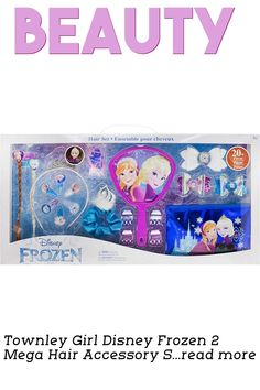 Shell be the coolest ice princess in all of Arendelle with these Frozen gifts for girls! From beauty kits to hair accessory sets, you can definitely find something she loves. … (This is an affiliate link) Beauty Kit, Hair Beauty, Makeup Sets, Disney Frozen 2, Hair Setting, Ice Princess, Disney Girls, Gifts For Girls, Toy Chest