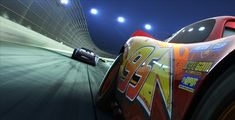Disney-Pixar has released a new Cars 3 trailer; the upcoming sequel sees Lightning McQueen trying to retake his crown from newcomer Jackson Storm. Disney Pixar Cars, Disney Films, Studio Disney, Walt Disney Studios, Cars 3 Trailer, Trailers, Movie Theater, Movie Tv, Movie Cars