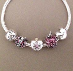 Armreif Für immer in meinem Herzen Preis:€79 Sonderangebot:€88.98 Hier Klicken:http://www.pandora-armband.net/pandora-charms-armband.html
