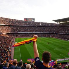 Camp Nou Barcelona Is one of the biggest soccer stadiums in the world and I really would like to see a championship game here.
