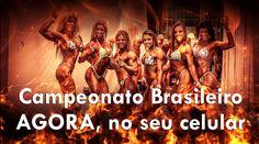 Campeonato Brasileiro. Ao vivo. Acesse  #vidaculturismo