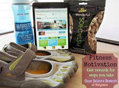 Fitness Motivation that rewards you for every step with Walgreens Rewards #BalanceRewards #cbias