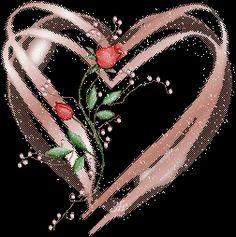 Glitter Hearts and Roses Glitter Gif, Glitter Hearts, Heart Gif, Love Heart, Roses Gif, Flowers Gif, Animated Heart, Hearts And Roses, Glitter Graphics