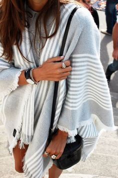 Plaid Scarf Plaid Blanket Scarf Gray  Grey & by AtLeftbankStudio