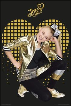 6d0b02524e4b0 Impact Posters - JoJo Siwa - Gold Heart - largest licensed distributor and  wholesaler of posters