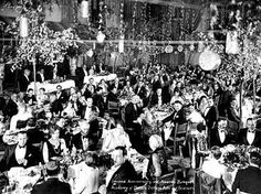 FIRST ACADEMY AWARDS! Held in Hollywood's Roosevelt Hotel in 1929, with a total attendance of just 240 people dressed to the nines.