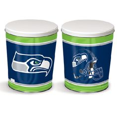 Seattle Seahawks Popcorn Tin from My Popcorn Kitchen