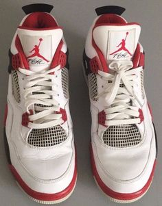 9218bcdbbbd8b8 2012 Nike Air Jordan IV 4 Retro White Red 12