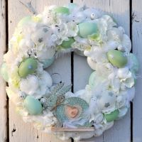 Wianek wielkanocny Nr 176 Hanukkah, Floral Wreath, Wreaths, Etsy, Home Decor, Floral Crown, Decoration Home, Door Wreaths, Room Decor