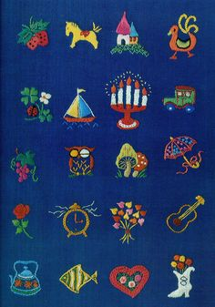 vintage Ondori embroidery