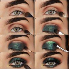 Eye Makeup Steps, Simple Eye Makeup, Smokey Eye Makeup, Eyeshadow Makeup, Makeup Brushes, Unique Makeup, Gorgeous Makeup, Makeup Remover, Daytime Smokey Eye