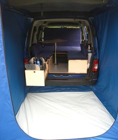 amdro boot tent tailgate awning, Amdro alternative campervans