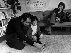 Italo Calvino, Giovanna Calvino, and Chichita, Paris, late 60s/early 70s