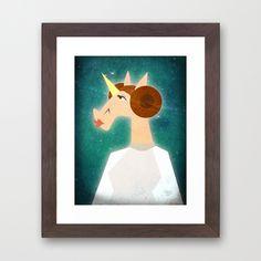 You're my only Horn Framed Art Print
