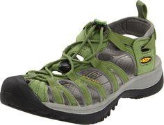 KEEN Women's Whisper Water Shoe,Jade Green/Neutral Gray,6 M US