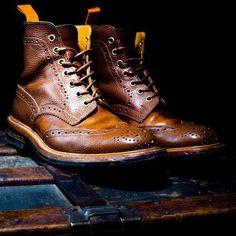 Ouigi Theodore BKc X Tricker's First Edition Brogue Boots