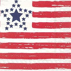 Ideal Home Range L012100 20 Count Distressed Flag 3-Ply Paper Luncheon Napkins, Multicolor by Ideal Home Range, http://www.amazon.com/dp/B06XPZBQ8L/ref=cm_sw_r_pi_dp_x_jtUqzb8N4N0Y2
