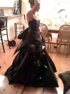 How To Make A Garbage Bag Dress