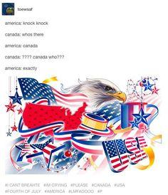 When America told Canada a joke:
