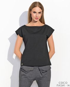 Black Classic Plain Ladies Tshirt- http://www.siboom.es/ladies-t-shirt-plain-short-sleeved-v_ofertas.html |