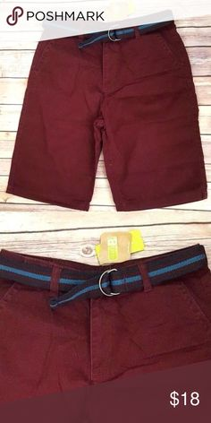 bfdc3b2175 I just added this listing on Poshmark: Nwt Crazy 8 Boys Size 14 maroon  shorts