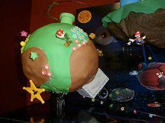 Super Mario Galaxy Cake #mario #cake #nintendo