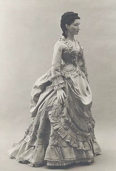 1870's Bustle Dress