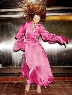 Publication: Vogue Germany February 2018 Model: Anna Ewers, Raquel Zimmermann, Grace Elizabeth, Faretta Photographer: Daniel Jackson Fashion Editor: Christiane Arp, Nicola Knels, Julia Von Boehm Hair:...