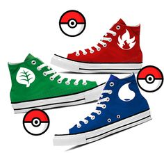 Pokemon Team Shoes! This is a contest. It's pretty simple to enter and is a $60 value!