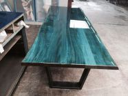 44 Amazing Resin Wood Table Home Furniture Ideas - Wood projects - Resin Wood Epoxy Resin Table, Wood Resin, Resin Table Top, Resin Furniture, Furniture Design, Furniture Ideas, Furniture Market, Furniture Removal, Furniture Stores