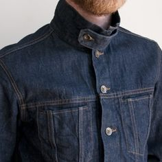 Men's Jackets For Every Occasion. Photo by Menswear Market Jackets are a must-have in the cold weather but it can also be used to accessorize an outfit. Denim Jacket Men, Denim Shirt, Denim Jeans, Denim Look, Raw Denim, Denim Fashion, Fashion Outfits, Estilo Denim, All Jeans