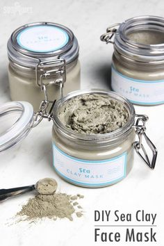 DIY Sea Clay Face Mask - | Oily skin| Oily skin remedies| Skin care| DIY Skin care|| #oilyskincare #oilyskinremedies #skinhealth #skin #skincare #oilyskin #PeelOffMaskResults #SkinCareMasks Oily Skin Remedy, Oily Skin Care, Skin Care Remedies, Dry Skin, Homemade Face Lotion, Homemade Face Masks, Natural Hair Mask, Natural Skin Care, Natural Beauty