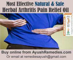 Herbal Supplement for Arthritis