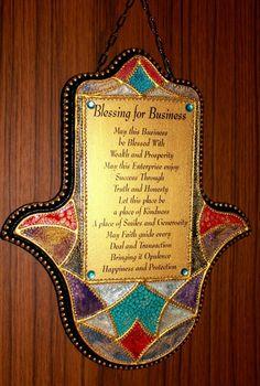 Hamsa Amulette, Kabbalah Hand der Fatima von Exklusive Geschenke. auf DaWanda.com