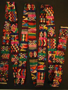 Guatemalan cinta (ribbon)