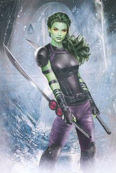 Gamora by Natali Sanders
