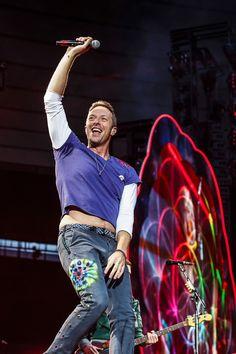 Love him ❤️ Chris Martin ❤️ Coldplay ❤️ Cris Martin, Chris Martin Coldplay, Phil Harvey, Jonny Buckland, British Rock, Britpop, Chris Evans, Cool Bands, Singer