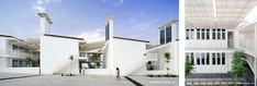 Lycee Charles de Gaulle Courtyards shading | A Damascus School Revives Traditional Cooling Techniques