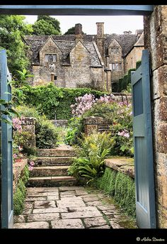 Snowshill Manor  Gardens, The Cotswolds UK
