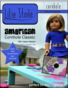 """American Cornhole Classic 18"""" Doll Accessories"""