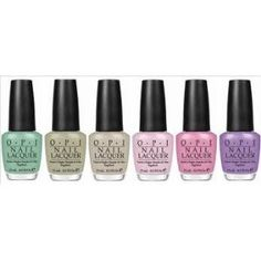 OPI Collection Pirates of the Caribbean (6 Bottle)